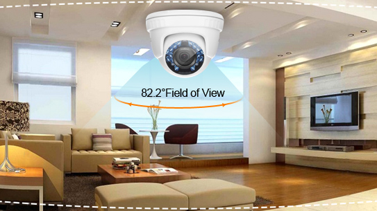 ANNKE 1080P HD Smart IR-Cut Filter Dome Durable Weatherproof Camera - C51BT
