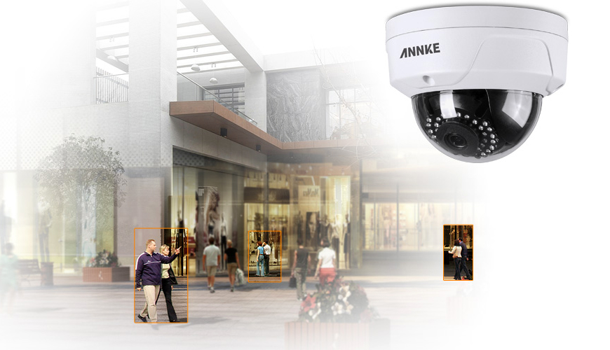 2.0MP HD PoE IP Dome Camera - I61FC