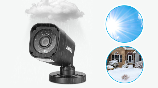 ANNKE® 4CH 720P HD TVI IR-CUT IP66 CCTV Bullet Security Cameras C11BX