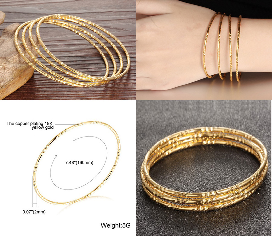 chloe bangles second fifth hand thumbnail of collection the stacked products by see